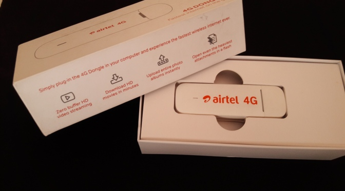 AIRTEL 4G Dongle E3372H-607 | Gadget Guru