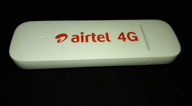 Unlock AIRTEL 4G DONGLE E3372H-607 and convert it to HiLink device